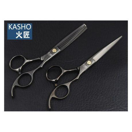 Комплект професионални японски ножици KASHO 5,5″