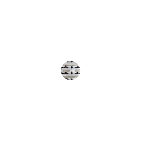 Професионална четка с естествен косъм, плоска, OLIVIA GARDEN TURBO VENT 100% BOAR