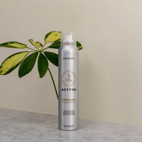 Actyva bellessere hairspray 200 ml bolli ambientata