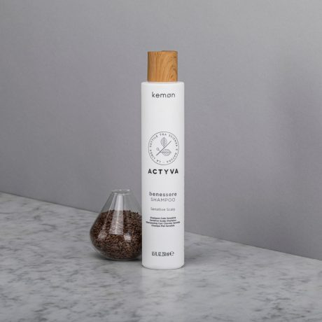 Actyva benessere shampoo 250 ml bolli ambientata