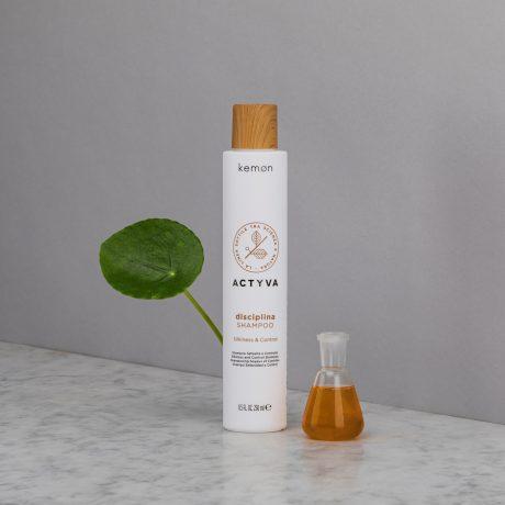 Actyva disciplina shampoo 250 ml bolli ambientata