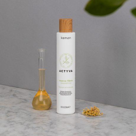 Actyva nuova fibra shampoo 250 ml bolli ambientata