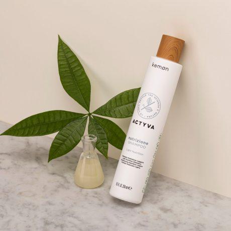 Actyva nutrizione shampoo 250 ml bolli ambientata