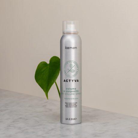 Actyva volume e corposità dry volume spray 200 ml bolli ambientata